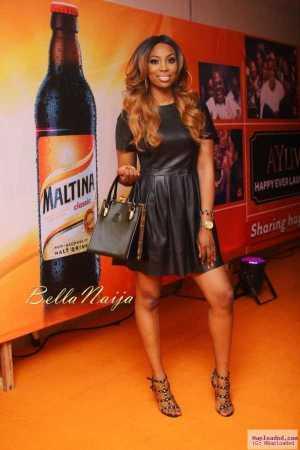 Photos: Tiwa Savage, 2Baba, Ramsey Nouah & Others At AY LIVE Show